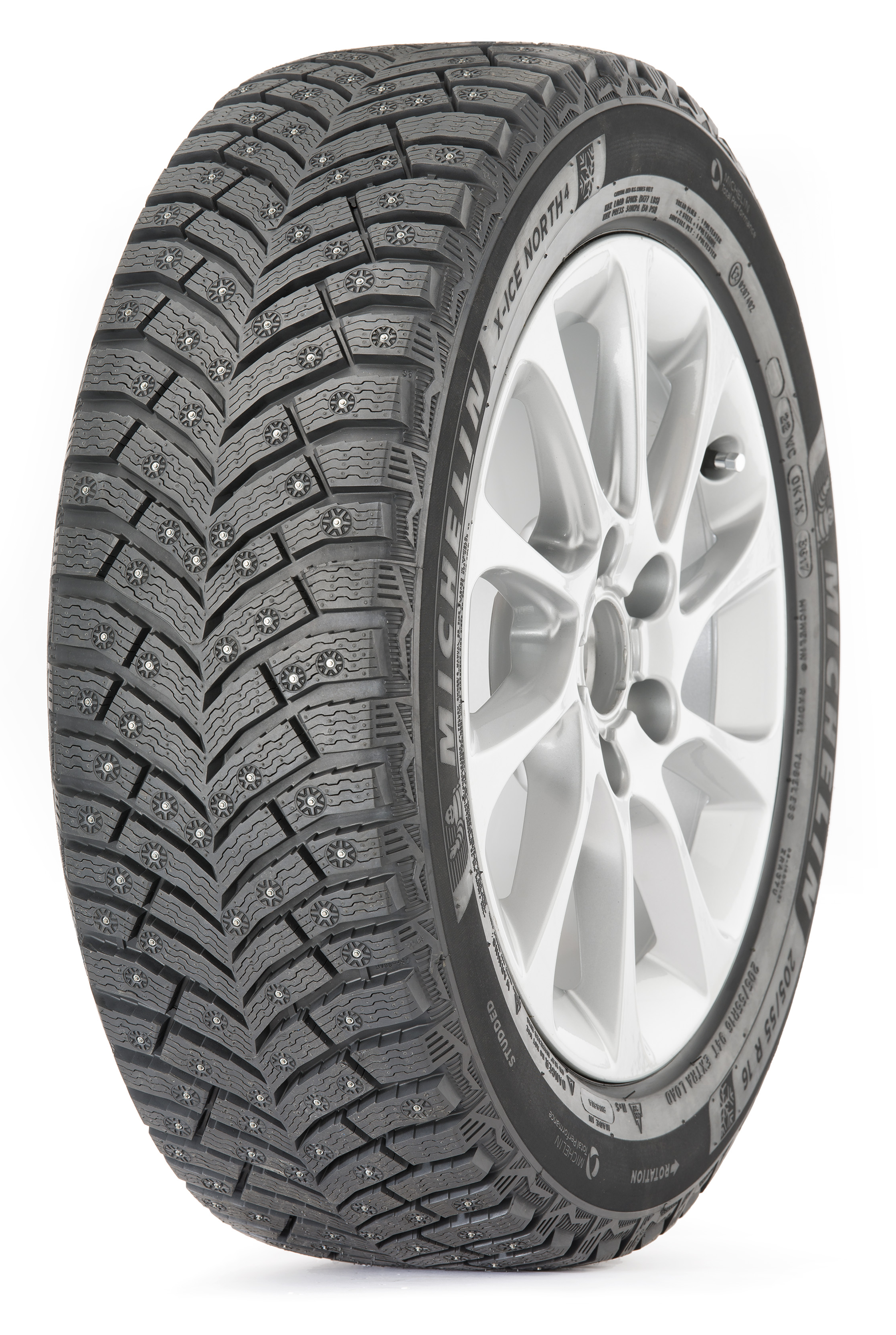 Michelin 215/65R16 102T  X-Ice North 4 (шип.)